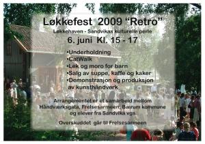 """løkkefest 2009 """"retro"""""""