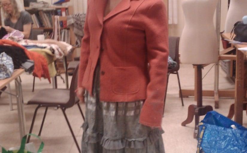 redesign av jakke