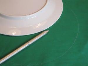 13 risse av langs tallerken til vektpute