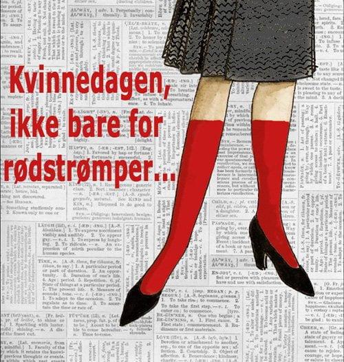 Kvinnedagen, ikke bare for rødstrømper ...